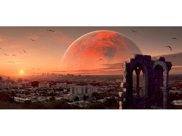 Рассвет с видом на Марс