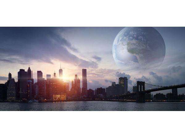 Вид с Земли на Землю